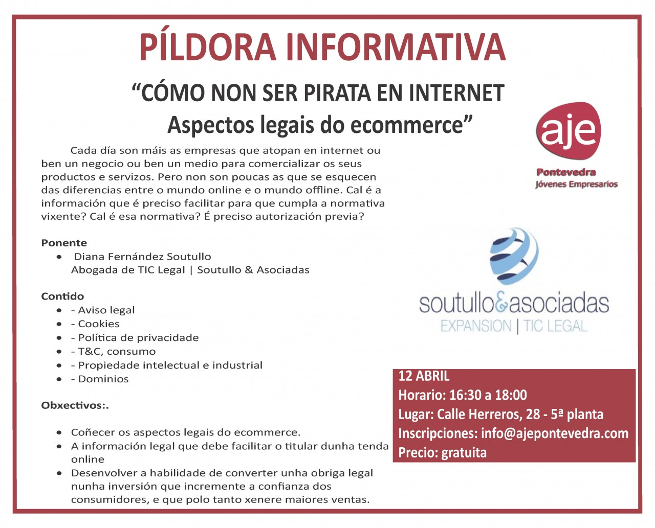 cartel pildora informativa como no ser pirata en internet1